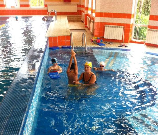 Обучение плаванию в выборгском районе