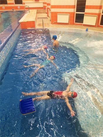Детский бассейн в Выборгском районе