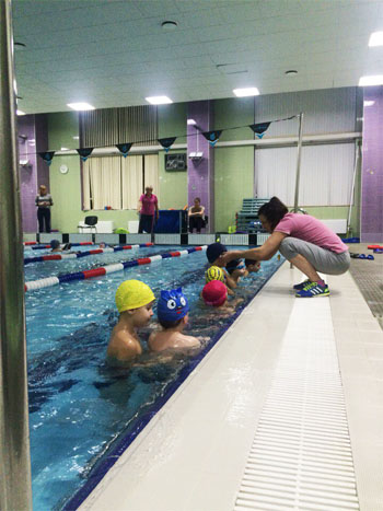 Обучение плаванию в Калининском районе